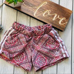 Like New Girls Adidas Shorts Pockets S 7/8